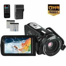 Video Camera Camcorder 1080P Full HD 24.0MP 3.0 inch IPS Tou