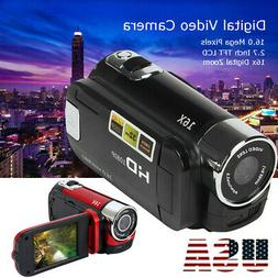 Video Camera Camcorder 1080P Full HD Vlogging Camera Vision