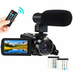 Video Camera Camcorder,ACTITOP 1080P FHD Camcorder 24.0MP 16