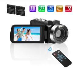 Video Camera Camcorder Comkes Digital vlogging Camera for Yo