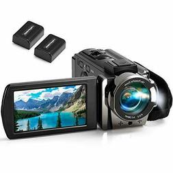Video Camera Camcorder kimire Full HD 1080P 15FPS 24MP 3.0""