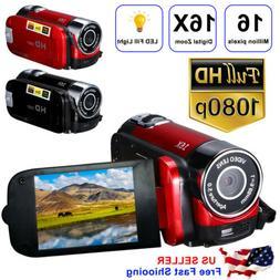 Video Camera Camcorder Vlogging Camera Full HD 1080P Digital