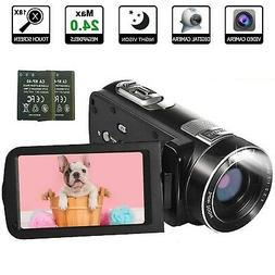 Video Camera Camcorder with IR Night Vision, WEILIANTE Full