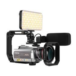 Video Camera Real 4K Wifi 64X Digital Zoom 30FPS <font><b>Ni