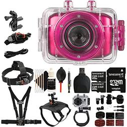 Vivitar DVR781HD HD Waterproof Action Video Camera Camcorder