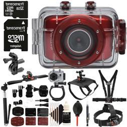 Vivitar DVR783HD 720P Waterproof Action Sports Video Camera
