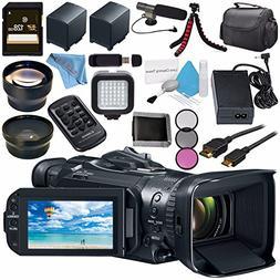 Canon VIXIA GX10 UHD 4K Camcorder 2214C002 + BP-820 Lithium