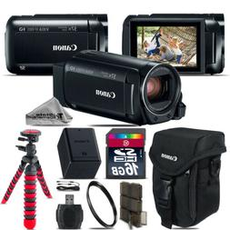 Canon VIXIA HF R 800 57x Live Streaming Camcorder + Case + 1