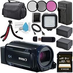 Canon 32GB VIXIA HF R62 Full HD Camcorder 0278C004 + BP-727