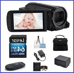 Canon VIXIA HF R700 Full HD Camcorder Bundle, includes: 64GB