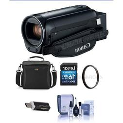 Canon VIXIA HF R80 3.28MP Full HD Camcorder, Bundle With 43m