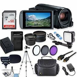 Canon Vixia HF R80 Wi-Fi 1080p HD Video Camera Camcorder + 3