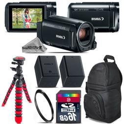Canon VIXIA HF R800 57x Camcorder + Extra Battery + UV + Bac