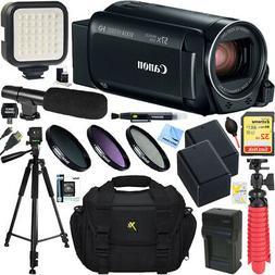 Canon VIXIA HF R800 Camcorder  + 32GB Memory & Deluxe Microp