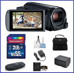 Canon VIXIA HF R800 Full HD Camcorder Bundle, includes: 32GB