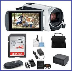Canon VIXIA HF R800 Full HD Camcorder  Bundle, includes: 64G