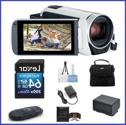 Canon VIXIA HF R800 HD Camcorder  64GB PRO Bundle-Canon Auth