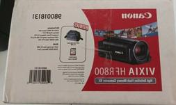 CANON VIXIA HF R800 HD FLASH MEMORY CAMCORDER KIT-NEW