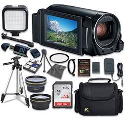 Canon VIXIA HF R82 Camcorder with Sandisk 32 GB SD Memory Ca