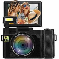 Vlog Camera With Flip Screen Vlogging For Youtube Kit Best S