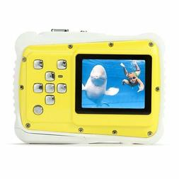 Pellor Waterproof Sport Action Camera Kids Camera Camcorder