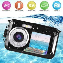 waterproof camera underwater camera for snorkeling full