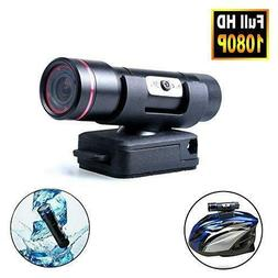 Waterproof Motorcycle Helmet Camera Bike Full HD 1080P Outdo