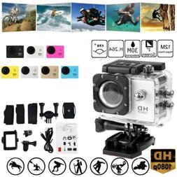 Waterproof Wifi 1080P 4K Ultra HD Sport Action Camera DVR DV