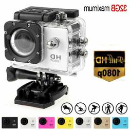 Waterproof Full HD 1080P 4K Ultra HD Sport Action Camera DVR