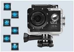 LDGJ 4K WIFI Sports Action Camera Ultra HD Waterproof DV Cam