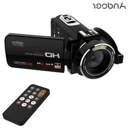 Andoer WiFi HD 1080P Digital Video Camera DV Camcorder with