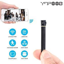 1080P Wireless WiFi Mini Camera- SOOSPY Indoor Outdoor Porta