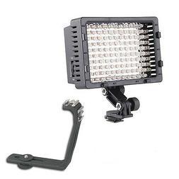 Pro WXF1 2 LED camcorder light for Panasonic HC WXF1 VX1 V80