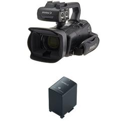 Canon XA35 Professional Camcorder and Battery Pack