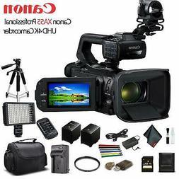Canon XA55 Professional UHD 4K Camcorder  W/Extra Battery, S