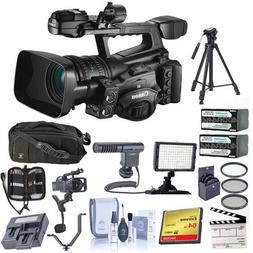 Canon XF-305 High Definition Pro Camcorder, Bundle With Vide