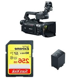 Canon XF405 Professional Camcorder with Battery Pack BP-828